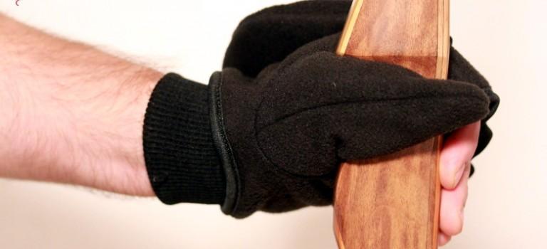 Endlich warme Hände beim Bogenschiessen im Winter