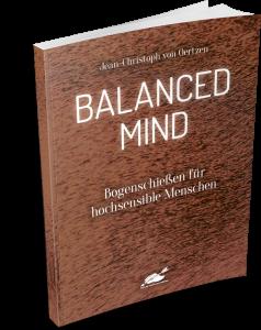 """Buch """"Balanced Mind - Bogenschießen für hochsensible Menschen"""""""