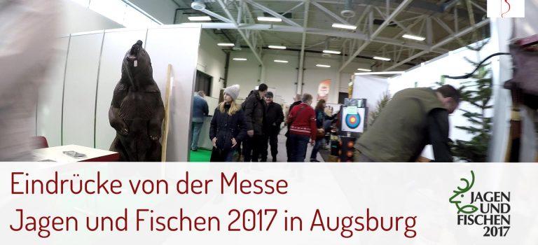 """Messe """"Jagen und Fischen"""" in Augsburg: meine Eindrücke"""
